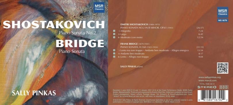 Shostakovich & Bridge Piano Sonatas